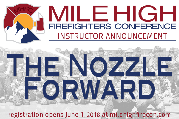 MHFC 2018 Instructor Announcement - Nozzle Forward
