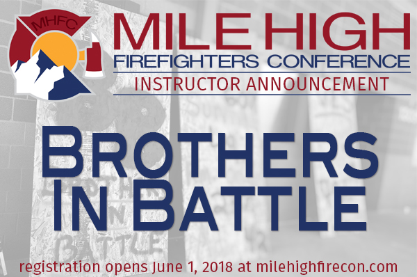MHFC 2018 Instructor Announcement - BIB