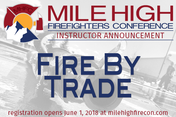 MHFC 2018 Instructor Announcement - FireByTrade