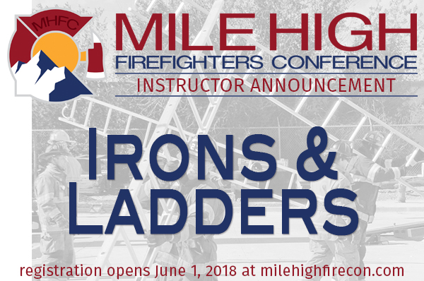 MHFC 2018 Instructor Announcement - Irons&Ladders
